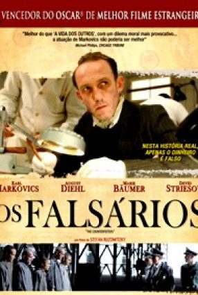 Cartaz do filme OS FALSÁRIOS – The Counterfeiters