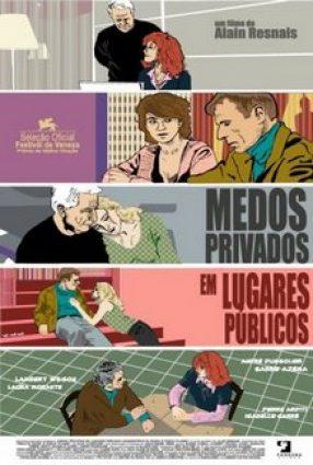 Cartaz do filme MEDOS PRIVADOS EM LUGARES PÚBLICOS – Coeurs