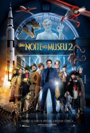 Cartaz do filme UMA NOITE NO MUSEU 2 – Night at the Museum 2