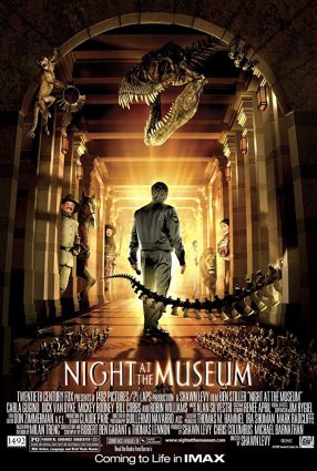Cartaz do filme UMA NOITE NO MUSEU – Night at the Museum