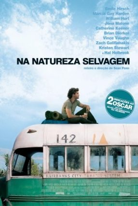 Cartaz do filme NA NATUREZA SELVAGEM – Into the Wild
