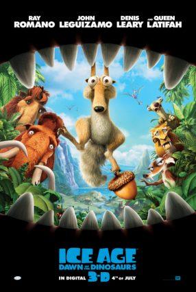Cartaz do filme A ERA DO GELO 3 – Ice Age: Dawn of the Dinosaurs