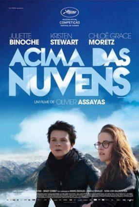 Cartaz do filme ACIMA DAS NUVENS – Clouds of Sils Maria