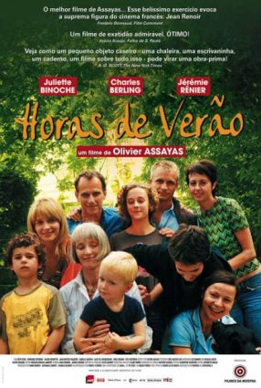 Cartaz do filme HORAS DE VERÃO – L´Heure d´Eté