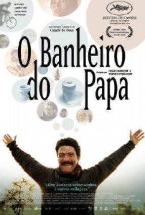 Cartaz do filme O BANHEIRO DO PAPA – El Baño del Papa