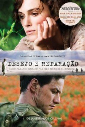 Cartaz do filme DESEJO E REPARAÇÃO – Atonement