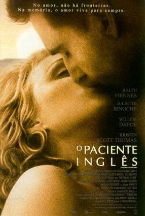 Cartaz do filme O PACIENTE INGLÊS – The English Patient