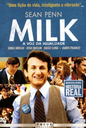 Cartaz do filme MILK –  A VOZ DA IGUALDADE – Milk
