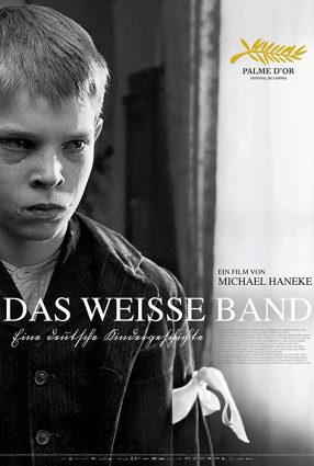 Cartaz do filme A FITA BRANCA – Das Weisse Band