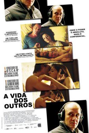 Cartaz do filme A VIDA DOS OUTROS – Das Leben der Anderen