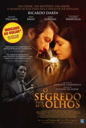 Cartaz do filme O SEGREDO DOS SEUS OLHOS – El Secreto de Sus Ojos