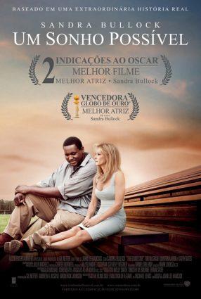 Cartaz do filme UM SONHO POSSÍVEL – The Blind Side