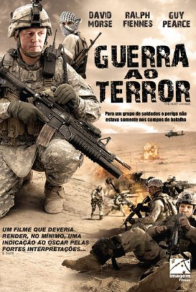 Cartaz do filme GUERRA AO TERROR – The Hurt Locker