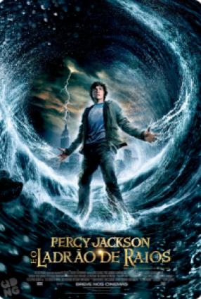 Cartaz do filme PERCY JACKSON E OS OLIMPIANOS – O LADRÃO DE RAIOS – Percy Jackson & The Olympians: The Lightning Thief