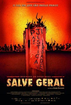 Cartaz do filme SALVE GERAL – O DIA EM QUE SÃO PAULO PAROU