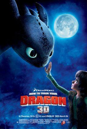 Cartaz do filme COMO TREINAR O SEU DRAGÃO – How to Train your Dragon