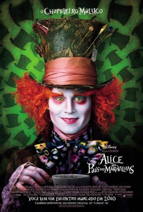Cartaz do filme ALICE NO PAÍS DAS MARAVILHAS – Alice in Wonderland