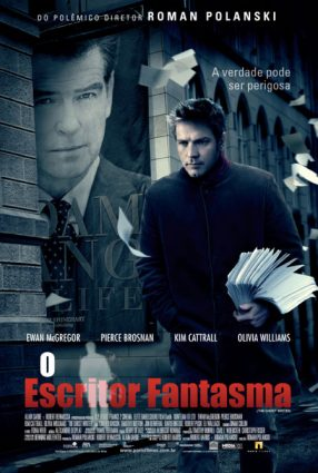 Cartaz do filme O ESCRITOR FANTASMA – The Ghost Writer