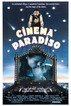 Cartaz do filme CINEMA PARADISO – Nuovo Cinema Paradiso