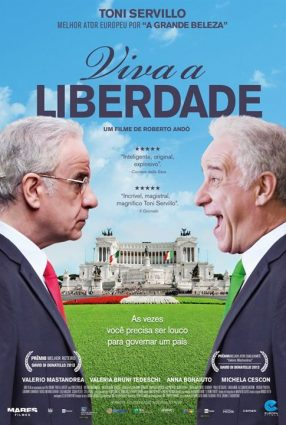 Cartaz do filme VIVA A LIBERDADE – Viva la Libertà