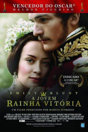Cartaz do filme A JOVEM RAINHA VITÓRIA – Young Victoria
