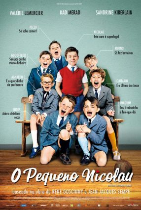 Cartaz do filme O PEQUENO NICOLAU – Le Petit Nicolas