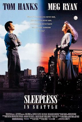 Cartaz do filme SINTONIA DE AMOR – Sleepless in Seattle