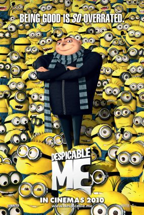 Cartaz do filme MEU MALVADO FAVORITO – Despicable Me