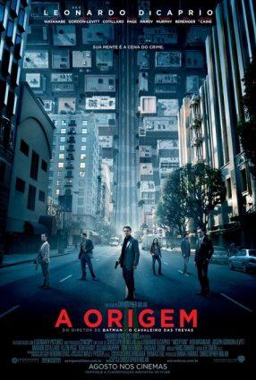 Cartaz do filme A ORIGEM – Inception