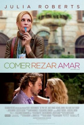 Cartaz do filme COMER, REZAR, AMAR – Eat, Pray, Love