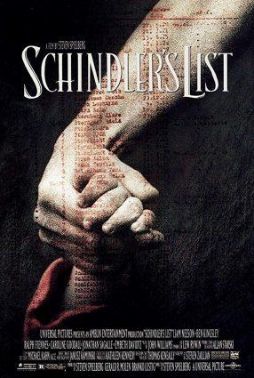 Cartaz do filme A LISTA DE SCHINDLER – Schindler's List