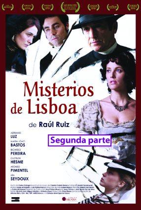 Cartaz do filme MISTÉRIOS DE LISBOA