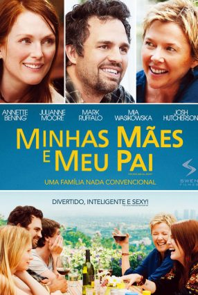 Cartaz do filme MINHAS MÃES E MEU PAI – The Kids Are All Right