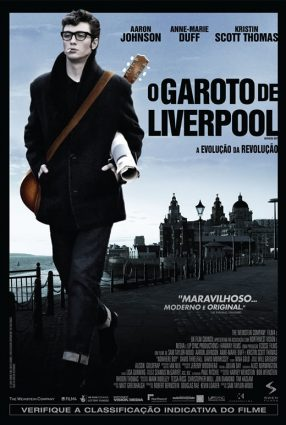 Cartaz do filme O GAROTO DE LIVERPOOL – Nowhere Boy