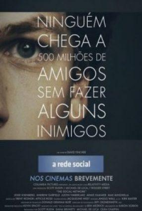 Cartaz do filme A REDE SOCIAL – The Social Network