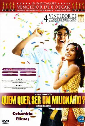 Cartaz do filme QUEM QUER SER UM MILIONÁRIO – Slumdog Millionaire