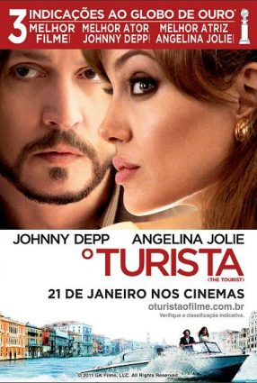 Cartaz do filme O TURISTA – The Tourist