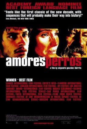 Cartaz do filme AMORES BRUTOS – Amores Perros