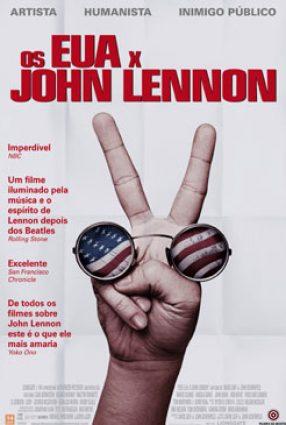 Cartaz do filme OS EUA X JOHN LENNON – The U.S. vs. John Lennon