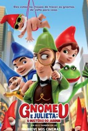 Cartaz do filme GNOMEU E JULIETA – Gnomeo & Juliet