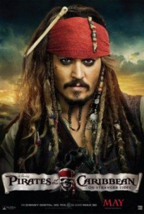Cartaz do filme PIRATAS DO CARIBE 4: NAVEGANDO EM ÁGUAS MISTERIOSAS – Pirates of the Caribbean – On Stranger Tides
