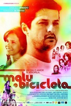 Cartaz do filme MALU DE BICICLETA
