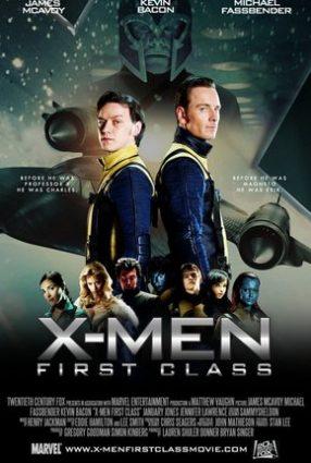 Cartaz do filme X-MEN, PRIMEIRA CLASSE – X-Men, First Class