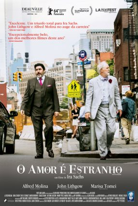 Cartaz do filme O AMOR É ESTRANHO – Love is Strange