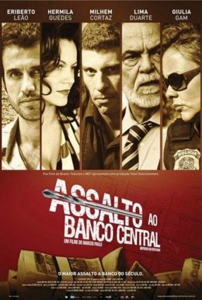 Cartaz do filme ASSALTO AO BANCO CENTRAL