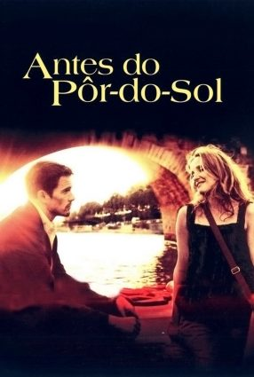 Cartaz do filme ANTES DO PÔR-DO-SOL – Before Sunset