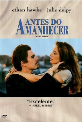 Cartaz do filme ANTES DO AMANHECER – Before Sunrise