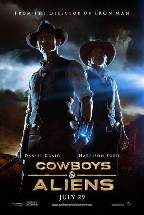 Cartaz do filme COWBOYS & ALIENS