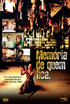 Cartaz do filme MEMÓRIA DE QUEM FICA – 18-J