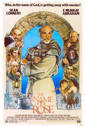 Cartaz do filme O NOME DA ROSA – The Name of the Rose